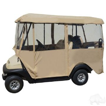 Club Car, Four passenger heavy duty vinyl enclosure